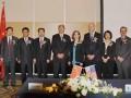 美国俄勒冈州州长、环保部领导在京参加先河环保收购美国Sunset公司签约仪式